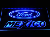 FREE Ford Mexico LED Sign - Blue - TheLedHeroes