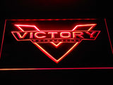 FREE Victory Motorcycle LED Sign - Red - TheLedHeroes