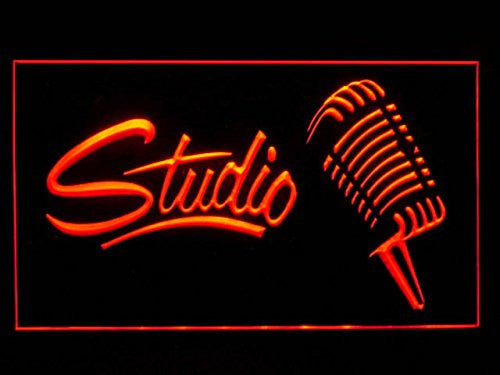 Studio Recording LED Sign - Red - TheLedHeroes