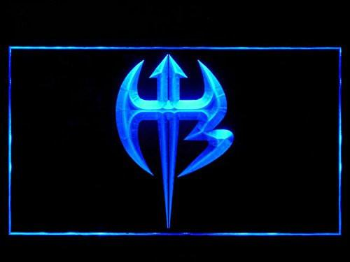 Jeff Hardy Weapon LED Neon Sign USB - Blue - TheLedHeroes