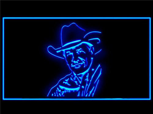 George Strait LED Sign - Blue - TheLedHeroes