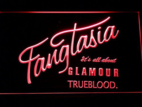 Fangtasia True Blood LED Sign - Red - TheLedHeroes