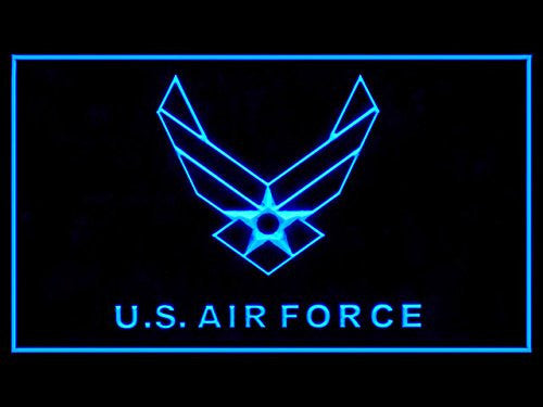 US Air Force Military LED Sign - Blue - TheLedHeroes