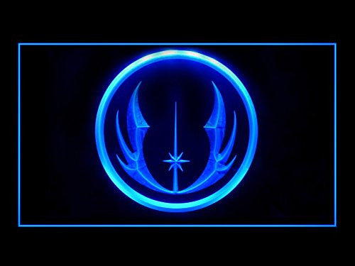 Star Wars Jedi Knight LED Sign - Blue - TheLedHeroes