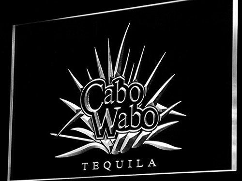 Cabo Wabo Tequila LED Sign - White - TheLedHeroes