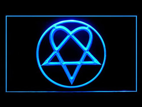 Bam Margera Heartagram Him LED Sign
