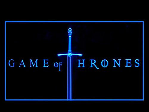 Game Of Thrones LED Sign - Blue - TheLedHeroes