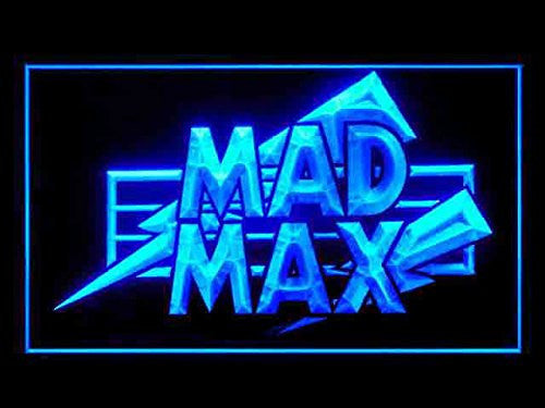Mad Max LED Sign - Blue - TheLedHeroes