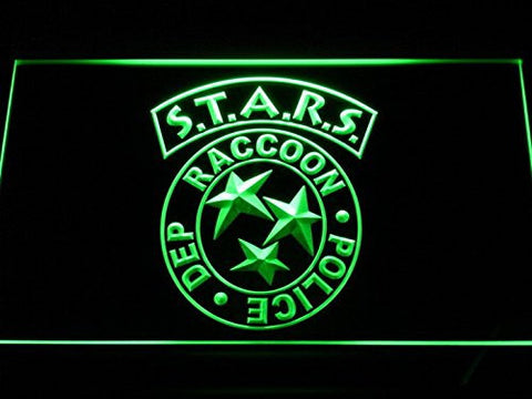 Biohazard Stars RPD Resident Evil LED Sign