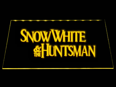 FREE Snow White and the Huntsman LED Sign - Yellow - TheLedHeroes