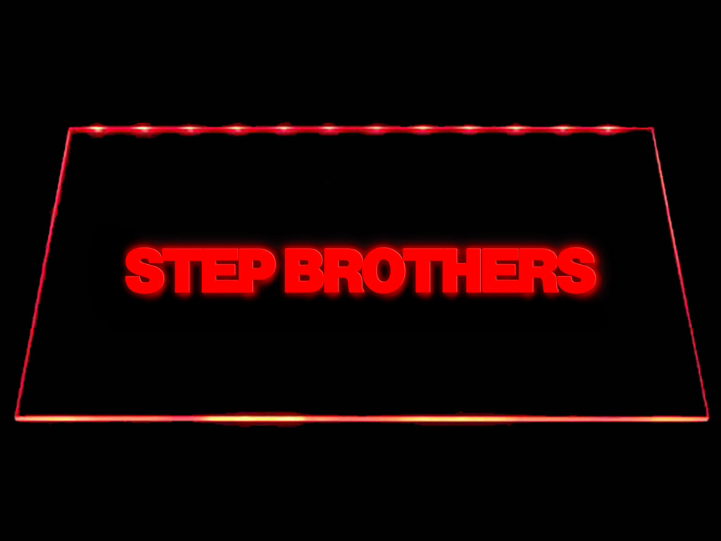 FREE Step Brothers LED Sign - Red - TheLedHeroes