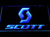 Scott LED Neon Sign USB - Blue - TheLedHeroes