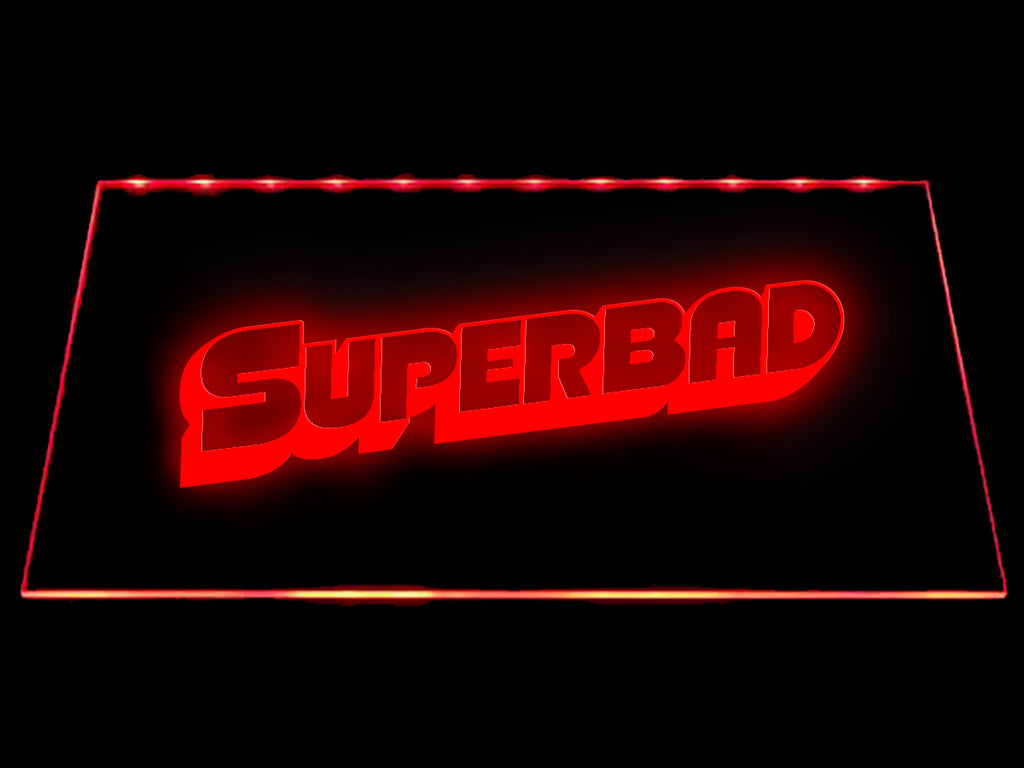 FREE Superbad LED Sign - Red - TheLedHeroes