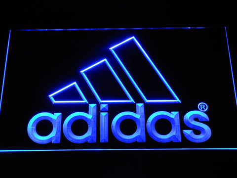 FREE Adidas LED Sign - White - TheLedHeroes