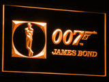007 James Bond LED Neon Sign USB - Orange - TheLedHeroes