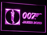007 James Bond LED Neon Sign USB - Purple - TheLedHeroes