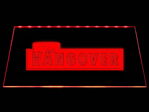 FREE The Hangover LED Sign - Red - TheLedHeroes