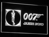 007 James Bond LED Neon Sign USB - White - TheLedHeroes