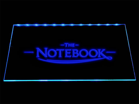 FREE The Notebook LED Sign - Blue - TheLedHeroes