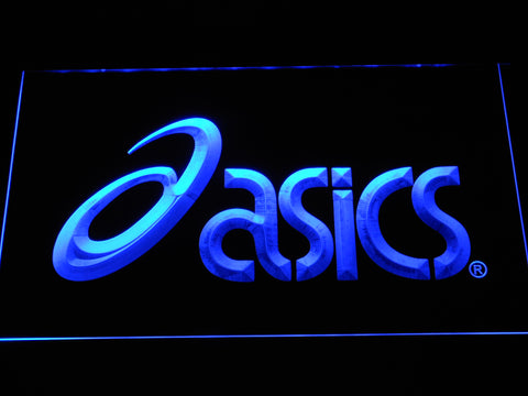 FREE Asics LED Sign - Blue - TheLedHeroes