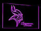 FREE Minnesota Vikings LED Sign - Purple - TheLedHeroes