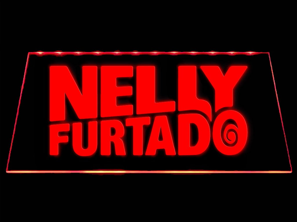 Nelly Furtado LED Neon Sign USB - Red - TheLedHeroes