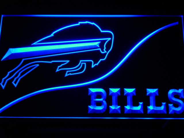 Buffalo Bills (3) LED Neon Sign Electrical - Blue - TheLedHeroes