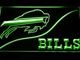 Buffalo Bills (3) LED Neon Sign Electrical - Green - TheLedHeroes