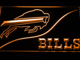 Buffalo Bills (3) LED Neon Sign Electrical - Orange - TheLedHeroes