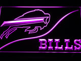 Buffalo Bills (3) LED Neon Sign Electrical - Purple - TheLedHeroes