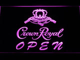 Crown Royal Open LED Neon Sign Electrical - Purple - TheLedHeroes