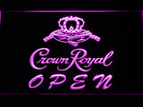 FREE Crown Royal Open LED Sign - Purple - TheLedHeroes