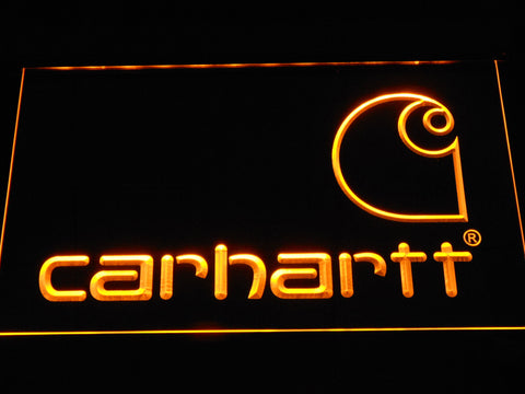 FREE Carhartt LED Sign - Yellow - TheLedHeroes