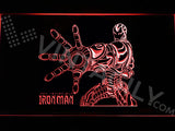 Iron Man 2 LED Sign - Red - TheLedHeroes