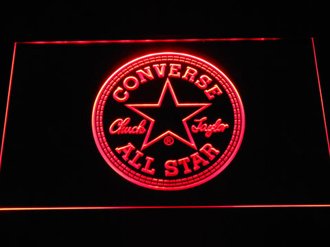 FREE Converse LED Sign - Red - TheLedHeroes