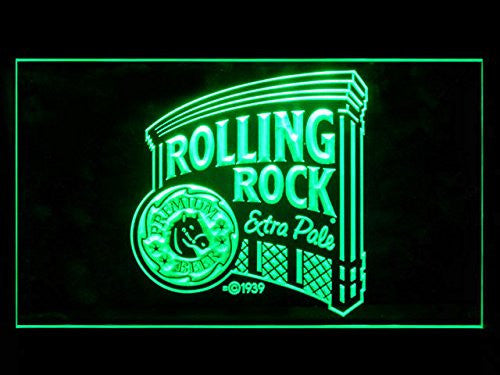 Rolling Rock Beer Pub LED Sign - Green - TheLedHeroes