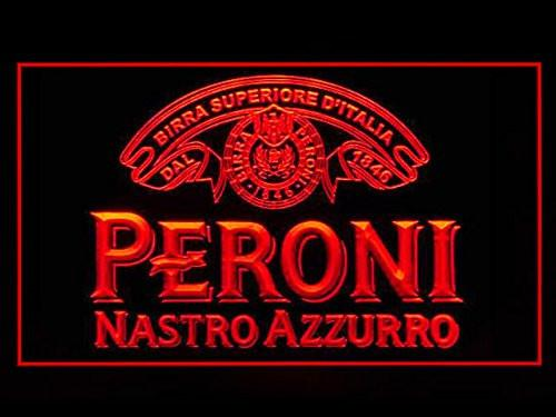 Peroni Nastro Azzurro Beer LED Neon Sign USB - Red - TheLedHeroes
