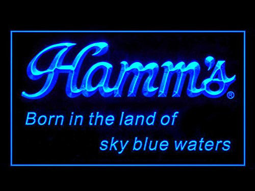 Hamm's Beer LED Sign - Blue - TheLedHeroes