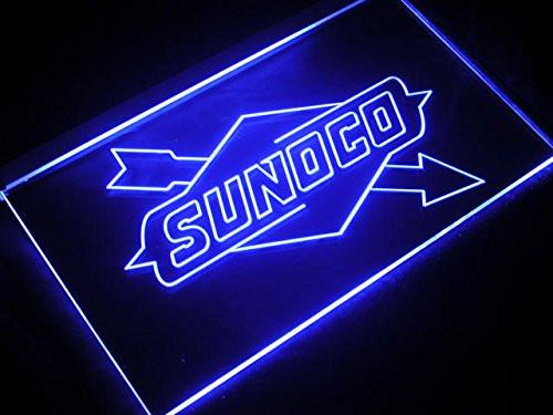 Sunoco LED Neon Sign USB - Blue - TheLedHeroes