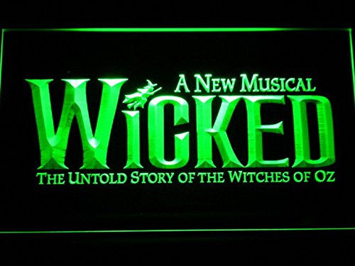 Wicked The Musical Bar LED Sign