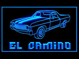 El Camino LED Sign - Blue - TheLedHeroes