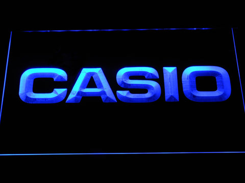 FREE Casio LED Sign - Blue - TheLedHeroes