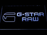 FREE G-Star-Raw LED Sign - White - TheLedHeroes
