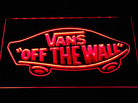 FREE Vans LED Sign - Red - TheLedHeroes
