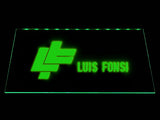Luis Fonsi LED Neon Sign USB - Green - TheLedHeroes