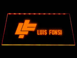 Luis Fonsi LED Neon Sign USB - Orange - TheLedHeroes