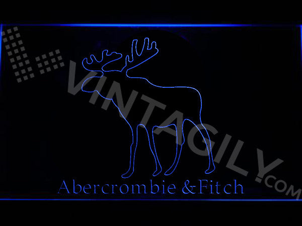 Abercrombie & Fitch LED Sign