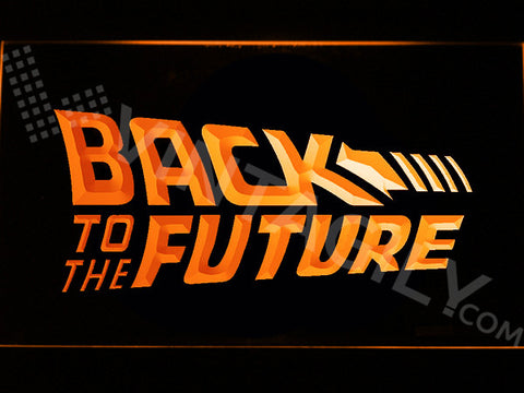 Back to the Future LED Sign