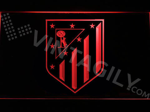 Club Atlético de Madrid LED Sign - Red - TheLedHeroes