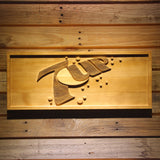 7 UP Wooden Sign